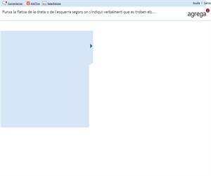Punxa la fletxa de la dreta o de l'esquerra segons on s'indiqui verbalment que es troben els... (Proyecto Agrega)