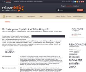 El cóndor pasa - Capítulo 4 Chilian Geografic (Educarchile)