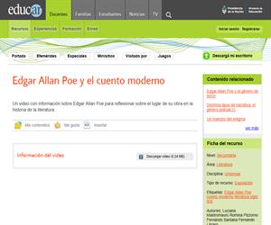Hipótesis predictivas. Edgar Allan Poe