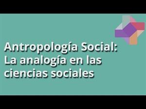 La analogía en las ciencias sociales