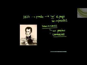 República Dominicana: 1844. Día de la Independencia
