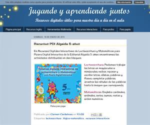 Recursos PDI Algaida 5 años