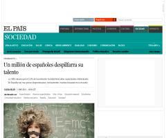Un millón de españoles despilfarra su talento | El País