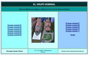 El grupo nominal (actividades y teoría)
