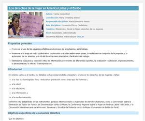 Los derechos de la mujer en América Latina y el Caribe