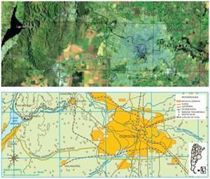 Cartas satelitarias para analizar territorios. Cuaderno para el alumno