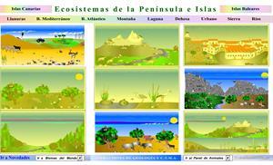 La protección del medioambiente. Los ecosistemas de la península y de las islas