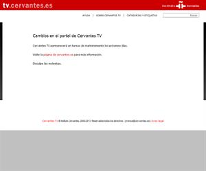 Canal TV del Instituto Cervantes