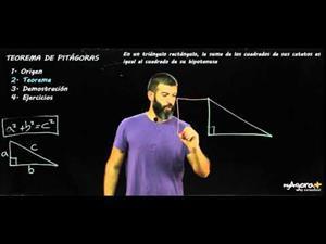Teorema de Pitágoras. (parte 3: el teorema)
