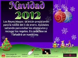 Juego para Navidad 2012 (Vedoque)