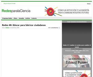 Educar para fabricar ciudadanos (redesparalaciencia.com)