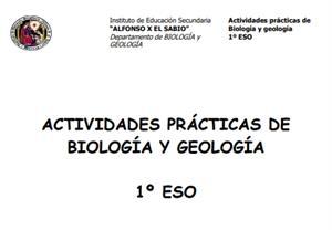 Prácticas de Laboratorio de Biología y Geología – 1º ESO  (IES Alfonso X el Sabio.Murcia)