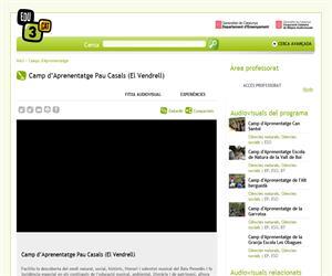 Camp d'Aprenentatge Pau Casals (El Vendrell) (Edu3.cat)