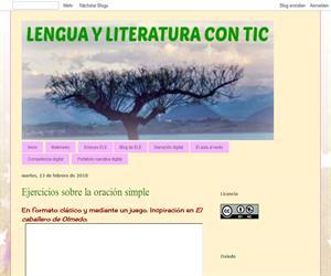 Lengua y literatura con TIC