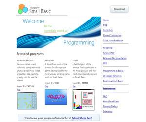 Small Basic, para aprender a programar con un lenguaje sencillo