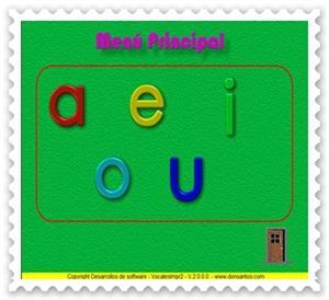 La vocales (letras de imprenta 2)