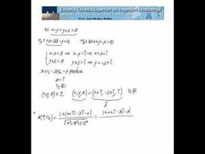 Cálculo de puntos de una recta equidistantes a dos planos