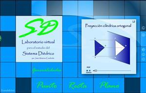 Laboratorio virtual para el estudio del Sistema Diédrico