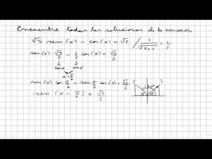Trigonometría 7 Ecuaciones Trigonométricas