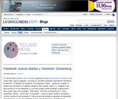 Facebook: nuevos dueños y 'misionero' Zuckerberg