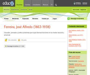 Ferreira, José Alfredo (1863-1938)