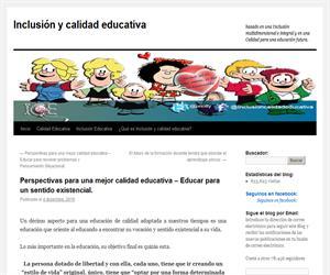 Perspectivas para una mejor calidad educativa – Educar para un sentido existencial.