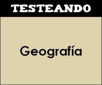 Geografía - Asignatura completa. 3º ESO (Testeando)