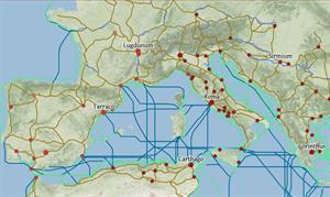 """ORBIS, un """"Google Maps"""" para recrear un viaje a través del Imperio Romano"""
