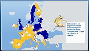 ¿A qué país pertenece la moneda? (Banco Central Europeo)