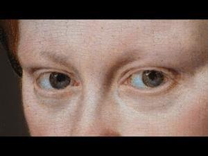 Restauración del retrato de María Tudor