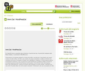 Immi.Cat i WordPressCat (Edu3.cat)