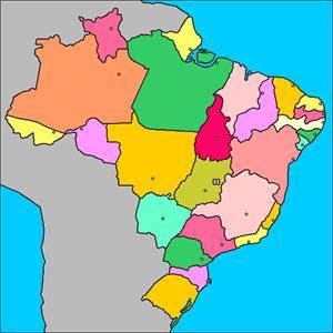 Mapa interactivo de Brasil: estados y capitales (luventicus.org)