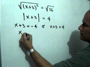 Solución de una ecuación cuadrática por completación de cuadrados (JulioProfe)