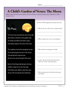 A Child's Garden of Verses: The Moon