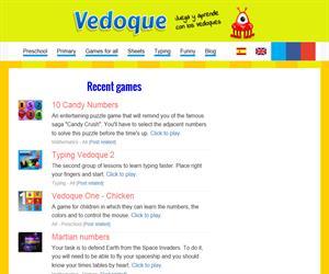 Vedoque, juegos educativos, fichas y otros materiales educativos gratuitos
