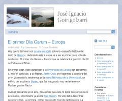 El primer Día Garum-Europa, en el blog de José Ignacio Goirigolzarri