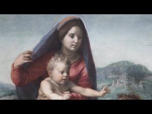 """Comentario de la obra """"La Virgen con el Niño entre san Mateo y un ángel"""" de Andrea del Sarto"""
