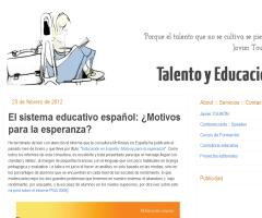El sistema educativo español: ¿motivos para la esperanza?   Javier Tourón