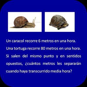 El caracol y la tortuga (Usa el Coco)