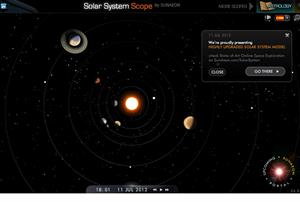 Simulador del Sistema Solar (solarsystemscope.com)