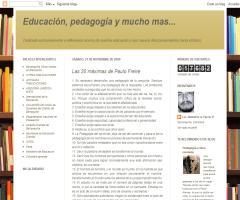 Las 20 máximas de Paulo Freire | Educación, pedagogía y mucho mas...