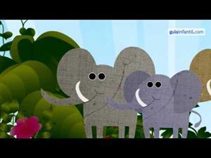Un elefante se balanceaba sobre la tela de una araña (guiainfantil.com)