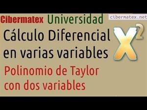 Polinomio de Taylor en dos variables. Cibermatex
