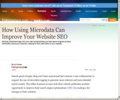 How using microdata can improve your website SEO