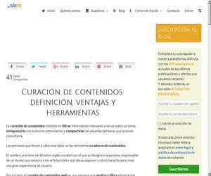 Curación de contenidos: definición, ventajas y herramientas