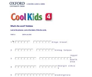 What's the word? Cool Kids 4