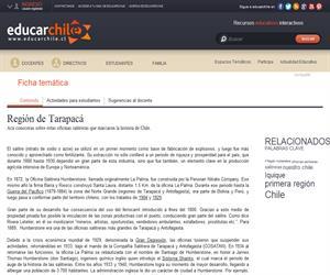 1ea Región Oficinas Salitreras (Educarchile)