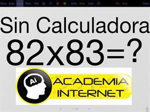 Multiplicar dos números de dos cifras que empiecen con la misma cifra