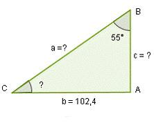 Problemas trigonometría, triángulo rectángulo, aplicaciones