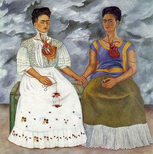 Análisis de la obra 'Las dos Fridas' de Frida Kahlo